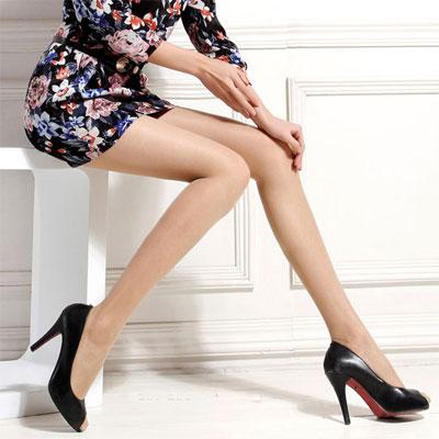 包芯丝娟感连裤袜批发 女士丝袜 加裆 柔爽透气瘦身 精品独立包装